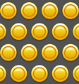 Patterngoldcoins vector