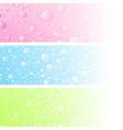 Wet banner vector