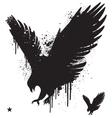 Stencil hawk vector