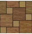 Seamless stonewall tile vector