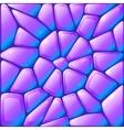 Glance violet rocks seamless pattern vector
