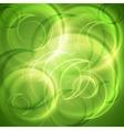 Green shiny abstract backdrop vector