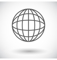 Simple world globe 2 vector