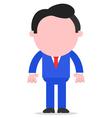 Businessman standing vector