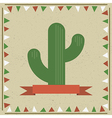 Cactus decoration vector