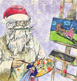 Topic christmas and santa claus vector