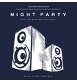 Party poster night club poster vector