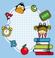 Education and school icon set vector