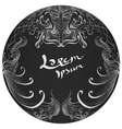 Hand drawn ornament background vector