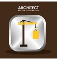 Architect icon vector