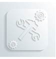 Repair tools icon vector
