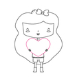 Love girl vector