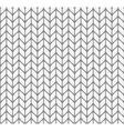 Flat knitting seamless pattern vector
