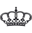 Regal crown vector