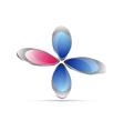 Floral icon vector