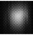 Creative triangle pattern background vector