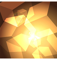Shining cubes vector