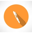 Ballpoint pen icon vector
