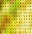 Autumn themed background with circular grid vector