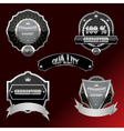 Set of labels and design elements vector
