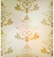 Vintage damask ornamental background vector