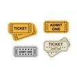 Admit one tickets vector