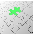 Green puzzle background vector