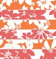 Stripe pop botanical vector