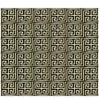 Greek key pattern design vector