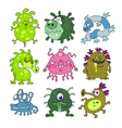 Microbes collection vector