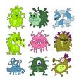 Microbes collection vector