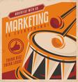 Advertising and marketing creative concept design vector