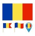 Romania country flag vector