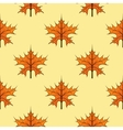 Seamless autumn maple leaves vector