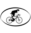 Cycle racing vector