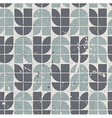 Retro seamless pattern with seamless messy texture vector