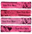 Love banners vector
