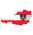 Austria flag vector