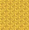 Pineapple peel seamless background sketch vector