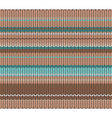 Knitted pattern vector