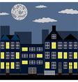Night city vector