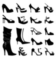 Fashion woman shoes vector