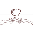 Card love vector