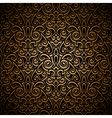 Vintage gold pattern vector