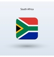 South africa flag icon vector