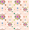 Navaratna seamless pattern vector
