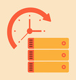 Time document and paper work vector