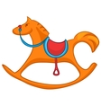 Cartoon home toy horse vector