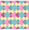 Abstract checkered pattern vector