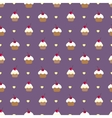 Cupcake seamless pattern can be used in textiles vector